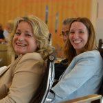 Dr. Daniela Sommer mit Kollegin Angelika Löber