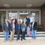 Besuch von Flüchtlingsunterkunft in Frankenberg