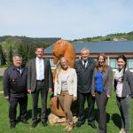 Besuch von Uplandschule in Willingen