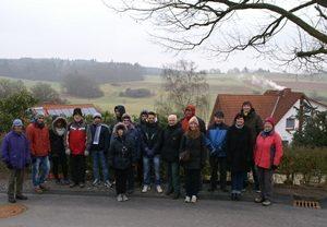 Neujahrswanderung der SPD Frankenberg