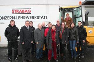 SPD Nordhessenrunde bei STRABAG AG in Bebra