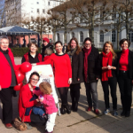 One Billion Rising 2015 mit Dr. Daniela Sommer