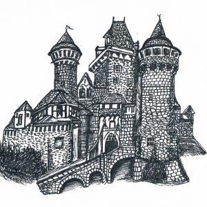 Sommertour 2015: Burgen, Schlösser und Ruinen