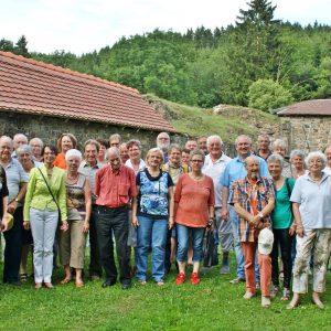 Sommertour 2015 Burg Hatzfeld