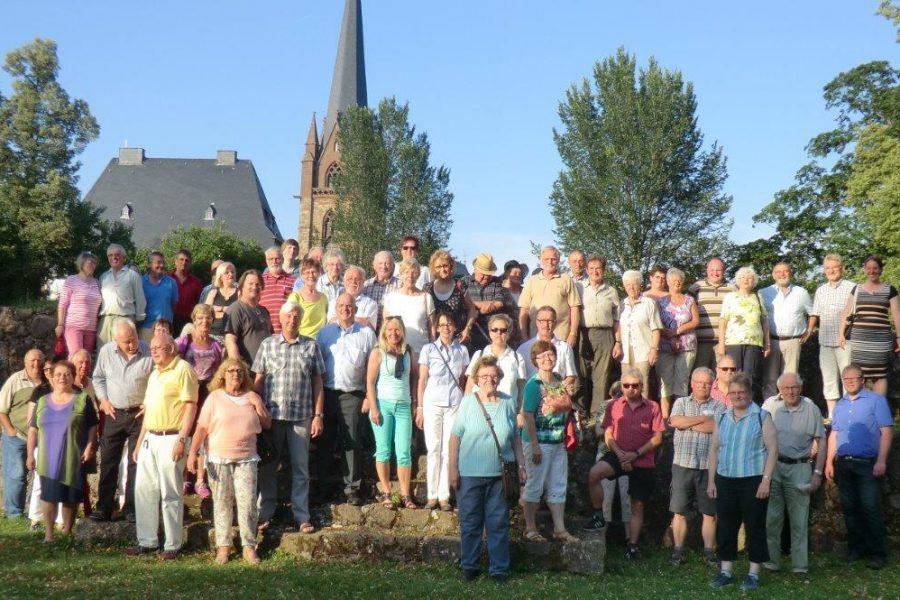 Sommertour 2015 Burgberg Frankenberg