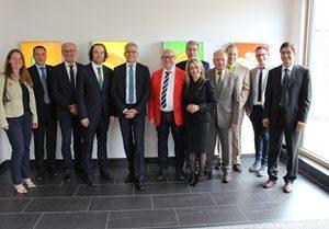 Besuch von Neuschäfer Elektronik in Frankenberg