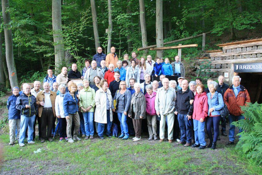 Sommertour 2015 Kellerburg Battenberg