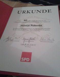 Mitgliederversammlung SPD Lichtenfels 2015