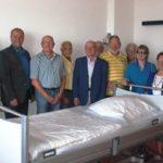 Besuch von Kreiskrankenhaus in Frankenberg