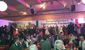 Kreisschützenball 2015 mit Dr. Daniela Sommer
