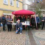 Spendensammlung für Treffpunkt Frankenberg mit Dr. Daniela Sommer
