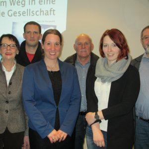 Sommer mit dem Vorstand des SPD-Ortsvereins Burgwald
