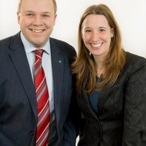 Dr. Daniela Sommer und Dr. Hendrik Sommer