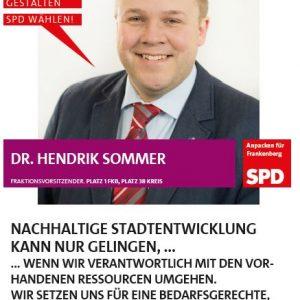 Spitzenkandidat Dr. Hendrik Sommer