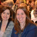 Dr. Daniela Sommer mit Kollegin Handan Özgüven