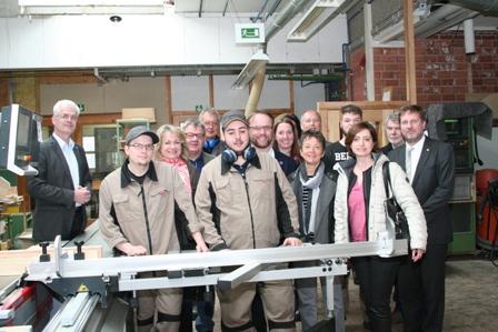SPD Nordhessenrunde bei Berufsbildungswerk Nordhessen in Kassel