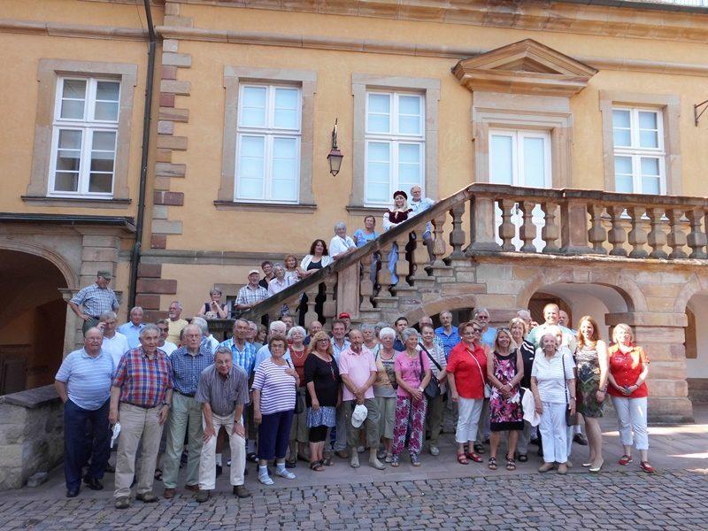 Sommertour 2015 Schloss Friedrichstein Bad Wildungen