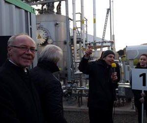 Einweihung Anlage Power to Gas mit Dr. Daniela Sommer