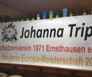 Empfang für Schützin Johanna Tripp mit Dr. Daniela Sommer