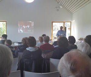 Informationsveranstaltung Elternverein Lebenshilfe in Frankenberg mit Dr. Daniela Sommer