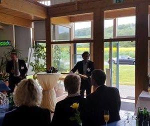 Eröffnung Bio Business Park Gemünden mit Dr. Daniela Sommer