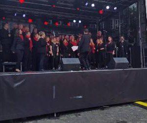 Hessentag 2016 in Herborn mit 150Ps Gospelchor Battenberg
