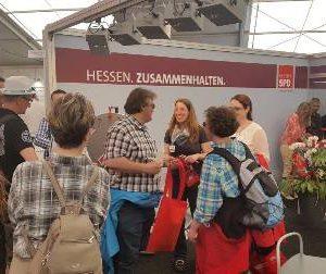Hessentag 2016 in Herborn mit Stand der SPD Hessen