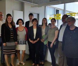 Besuch von hessischen Studentenwerken in Kassel