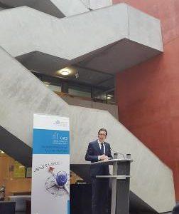 Eröffnung von CAES der Frankfurt UAS mit Dr. Daniela Sommer