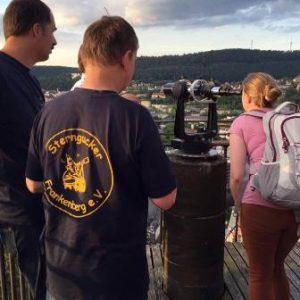 Besuch von Gerling-Sternwarte der Philipps-Universität Marburg