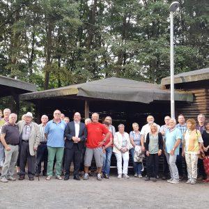 Sommertour 2016 Teichanlage Gemünden