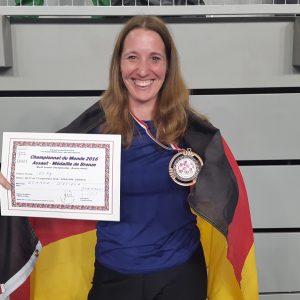 Weltmeisterschaft Savate 2016 mit Dr. Daniela Sommer