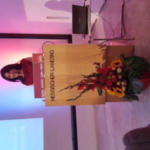 Iris Berben erhält Zinn-Preis