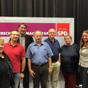 Fraktions- und Ortsvereinsvorsitzendenkonferenz 2016 in Alsfeld