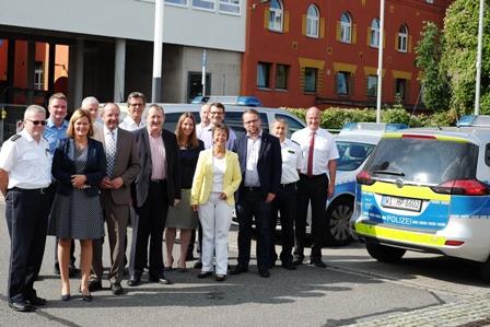 SPD Nordhessenrunde bei Polizeipräsidium in Kassel