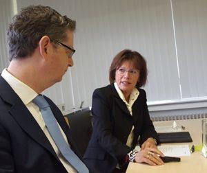 Thorsten Schäfer-Gümbel im Gespräch mit Prof. Dr. Anita Röhm