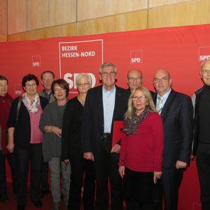 Ehrenamtspreis SPD-Bezirk Hessen-Nord 2016