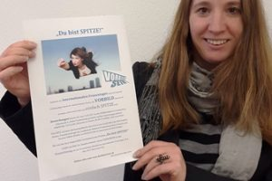 Wettbewerb Du bist SPITZE 2017 von Dr. Daniela Sommer