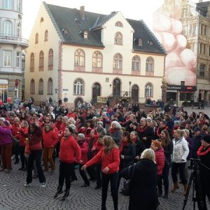 One Billion Rising 2017 mit Dr. Daniela Sommer