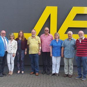 SPD Besuch von Neuschäfer Elektronik in Frankenberg