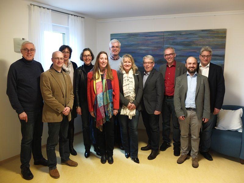 SPD Nordhessenrunde bei Hospiz in Gilserberg