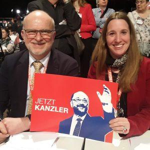 Außerordentlicher Bundesparteitag Berlin 2017 mit Dr. Daniela Sommer
