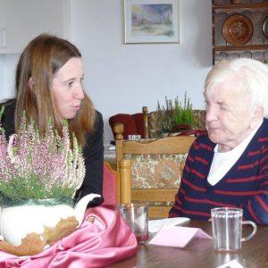 Besuch von Tagespflege in Laisa