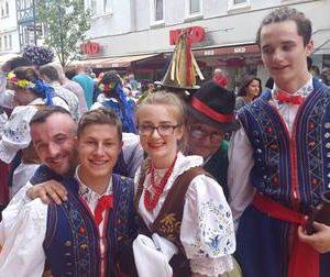 Mini-Europeade in Frankenberg mit Dr. Daniela Sommer