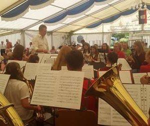 Jugendprojektorchester 65 Jahre Musikzug Bottendorf mit Dr. Daniela Sommer