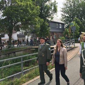 Schützenfest Allendorf (Eder) 2017 mit Dr. Daniela Sommer