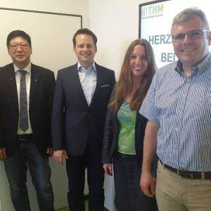 Besuch von THM in Limburg