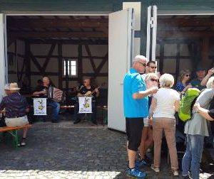 Himmelfahrt Open Air Männergesangvereins Battenberg mit Dr. Daniela Sommer