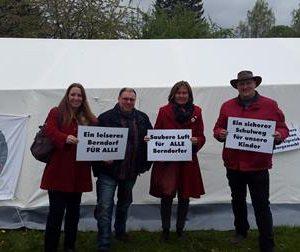 Tag gegen den Lärm in Berndorf mit Dr. Daniela Sommer