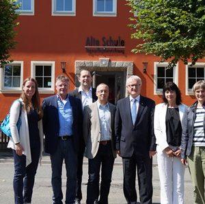Eröffnung Tagespflege Alte Schule in Frankenau mit Dr. Daniela Sommer